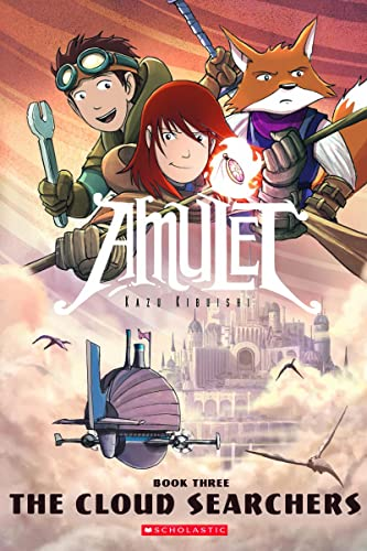 Amulet Book 3: The Cloud Searchers cover