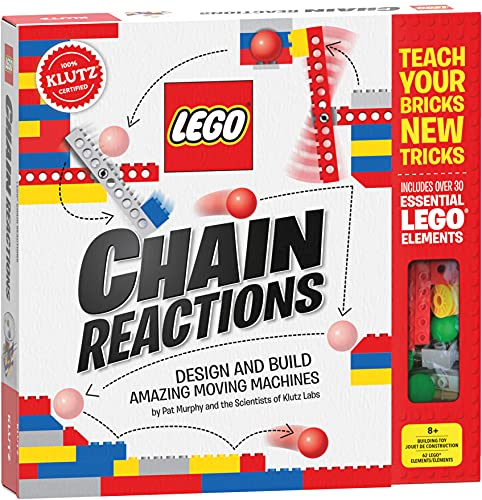 Klutz LEGO Chain Reactions Craft Kit - Pat Murphy and the Scientists of Klutz Labs