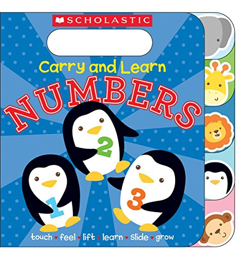 Carry and learn numbers / illustrated by Sarah Ward