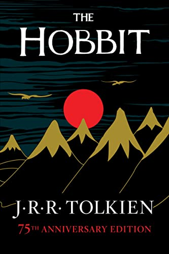 The Hobbit chapter book by J. R. R. Tolkien