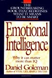 Emotional Intelligence: Why It Can Matter More Than IQ - book cover picture
