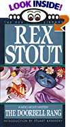 The Doorbell Rang: A Nero Wolfe Mystery (The Rex Stout Library) by  Rex Stout, Stuart M. Kaminsky (Introduction)