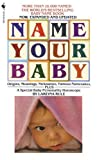 Name Your Baby - book cover picture