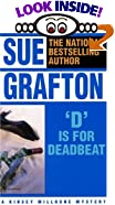 D Is for Deadbeat by  Sue Grafton (Paperback) 