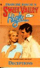 Deceptions (Sweet Valley High) - book cover picture