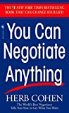 You Can Negotiate Anything - book cover picture