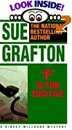 F Is for Fugitive by  Sue Grafton (Paperback - May 1990)