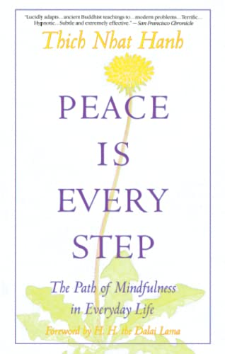 Peace Is Every Step Book Cover Picture