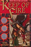 The Keep of Fire (The Last Rune, Book 2) - book cover picture