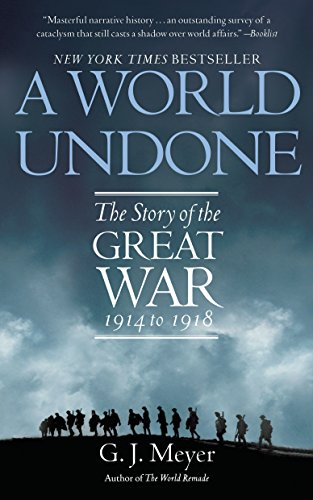 A World Undone Book Cover Picture