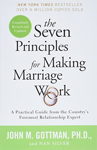 cover for Seven Principles for Making Marriage Work