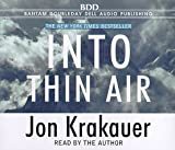 Into Thin Air - book cover picture