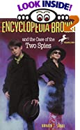 Encyclopedia Brown and the Case of the Two Spies by  Donald J. Sobol, Eric Velasquez (Illustrator) (Paperback - April 1995)