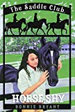 Horse Shy (Saddle Club(R)) - book cover picture