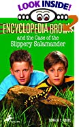 Encyclopedia Brown and the Case of the Slippery Salamander (Encyclopedia Brown, 22) by  Donald J. Sobol, Warren Chang (Illustrator) (Paperback - August 2000)