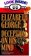 Deception on His Mind by  Elizabeth George (Mass Market Paperback - October 1998)