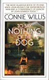To Say Nothing of the Dog - book cover picture