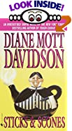 Sticks & Scones by  Diane Mott Davidson (Mass Market Paperback - May 2002)
