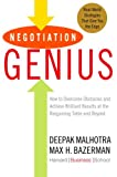 Buy Negotiation Genius: How to Overcome Obstacles and Achieve Brilliant Results at the Bargaining Table and Beyond from Amazon