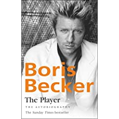 photo of 'The Player av Boris Becker, Bantam forlag'