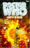 Legacy of the Daleks (Doctor Who Series) - book cover picture