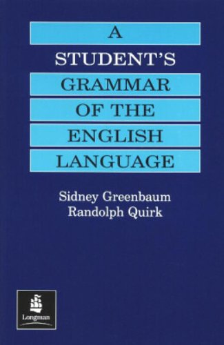 A Student's Grammar of the English Language (Grammar Reference)