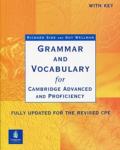 Grammar and Vocabulary for Cambridge Advanced and Proficienc (Grammar & vocabulary)