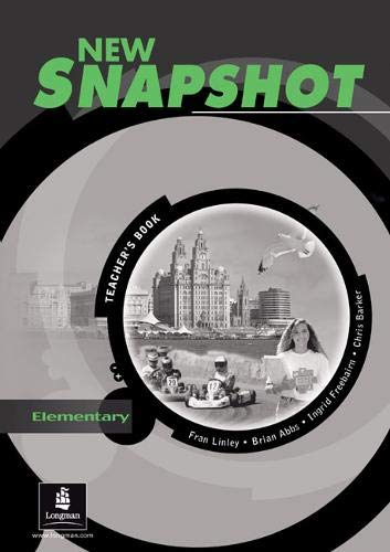 New Snapshot Elementary :Teacher's Book