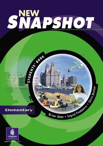 New Snapshot: Elementary Level: Students' Book