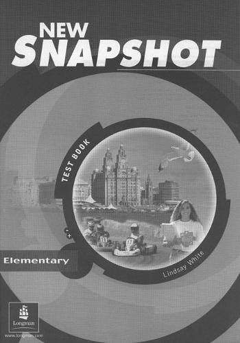 Snapshot Elementary Tests New Edition