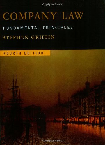 Company Law: Fundamental Principles