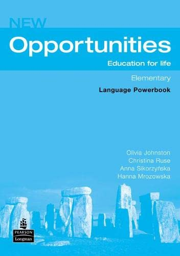 Opportunities: Global Elementary Language Powerbook NE (Opportunities)