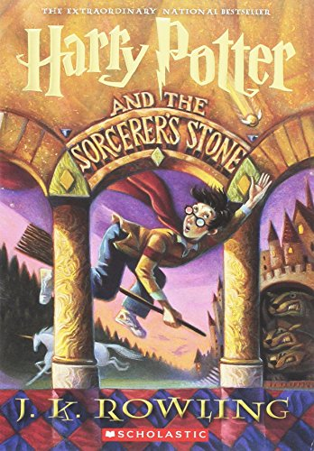 Harry Potter and the Sorcerer's Stone Chapter Book by J. K. Rowling