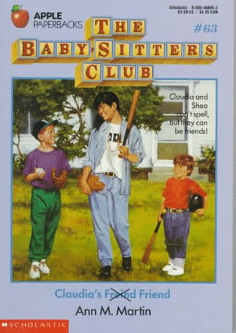 Claudia's Friend (The Baby-Sitters Club, No. 63), Martin, Ann M.