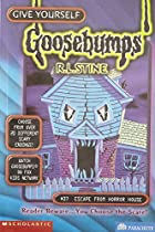 Escape from Horror House (Give Yourself Goosebumps, No 37) de R. L. Stine