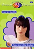 Mary Anne's Big Breakup (Baby-Sitters Club Friends Forever) - book cover picture