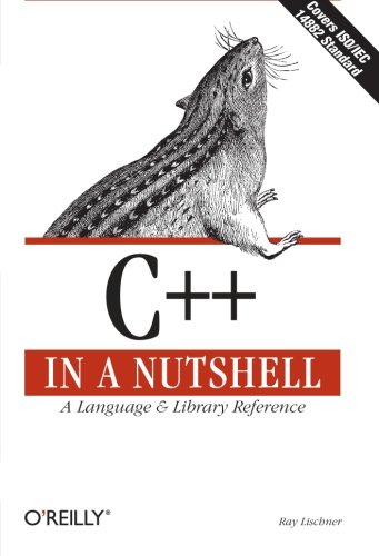Book Cover: C++ in a Nutshell