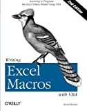 Writing Excel Macros with VBA, 2nd Edition - book cover picture