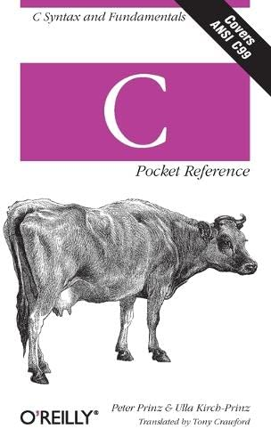 C Pocket Reference