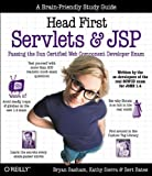 Head First Servlets and JSP: Passing the Sun Certified Web Component Developer Exam (SCWCD) - book cover picture