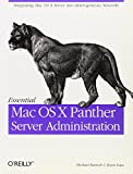 Essential Mac OS X Panther Server Administration - book cover picture