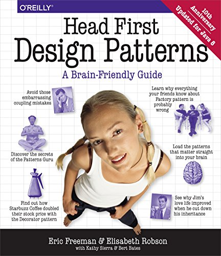 Head First Design Patterns Book Cover Picture