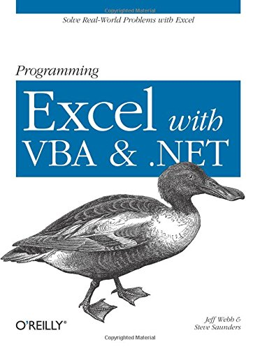 Book Cover: Programming Excel with VBA and .NET