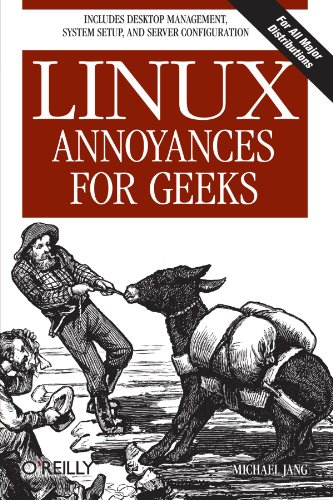 Book Cover: Linux Annoyances for Geeks