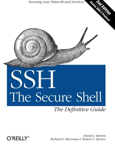 Book Cover: SSH, the Secure Shell: The Definitive Guide