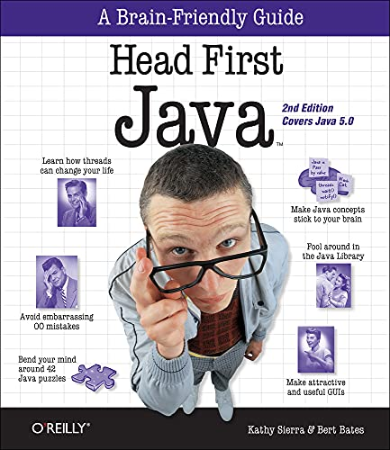 Head First Java Book Cover Picture