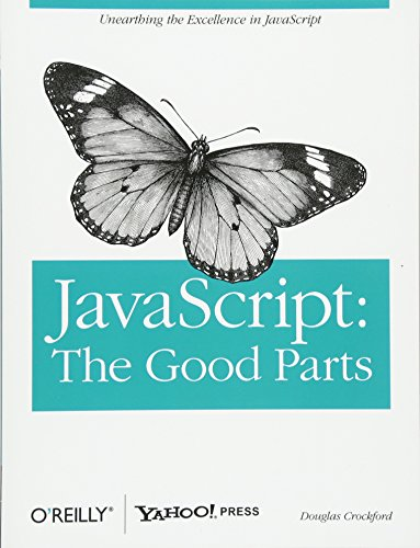 JavaScript: The Good Parts Book Cover Picture