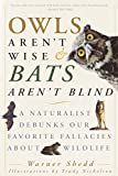 Cover image of Owls Aren't Wise and Bats Aren't Blind