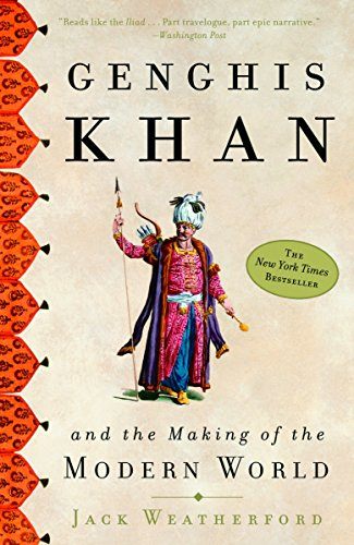Genghis Khan Book Cover Picture