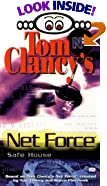 Safe House (Tom Clancy's Net Force; Young Adults, No. 10) by  Tom Clancy (Creator), et al (Library Binding - October 2001) 